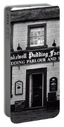 Bakewell  Pudding Factory In The Peak District - England Portable Battery Charger