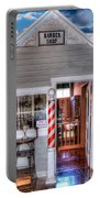 Barber Shop  Portable Battery Charger