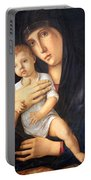 Bellini's Madonna And Child Portable Battery Charger