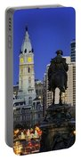 Ben Franklin Parkway And City Hall Portable Battery Charger