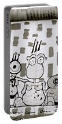 Berlin Wall Avatars Portable Battery Charger