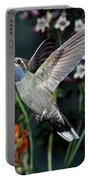 Blue-throated Hummingbird Portable Battery Charger