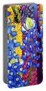 Bluebonnet Garden Portable Battery Charger