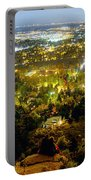 Boulder Colorado City Lights Panorama Portable Battery Charger