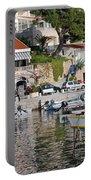 Brela Harbour Croatia Portable Battery Charger