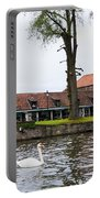 Brugge Canal Scene Portable Battery Charger