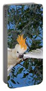 Cacatoes A Huppe Orange Cacatua Portable Battery Charger