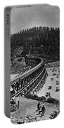 California Railroad Portable Battery Charger