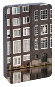 Canal Houses In Amsterdam Portable Battery Charger