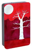 Canyon Tree Original Painting Portable Battery Charger
