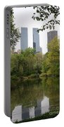 Central Park Pond Portable Battery Charger