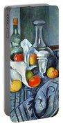 Cezanne's The Peppermint Bottle Portable Battery Charger