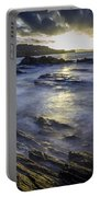 Chamoso Point In Ares Estuary Galicia Spain Portable Battery Charger