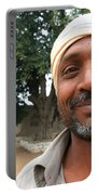 Chanderi Man Portable Battery Charger