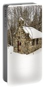 Chapel In The Woods Stowe Vermont Portable Battery Charger
