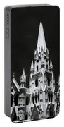 Black And White Basilica Portable Battery Charger