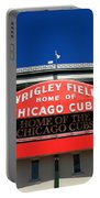 Chicago Cubs - Wrigley Field Portable Battery Charger by Frank Romeo