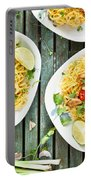 Chicken Noodles Portable Battery Charger