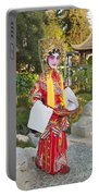 Chinese Opera Girl - In Full Traditional Chinese Opera Costumes. Portable Battery Charger