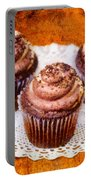 Chocolate Caramel Cupcakes Portable Battery Charger