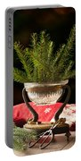 Christmas Decoration Portable Battery Charger by Amanda Elwell