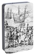 Christopher Columbus (1451-1506) Portable Battery Charger