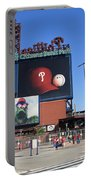 Citizens Bank Park - Philadelphia Phillies Portable Battery Charger by Frank Romeo