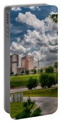 City Streets Of Charlotte North Carolina Portable Battery Charger