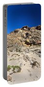 cliff in San Pietro island Portable Battery Charger