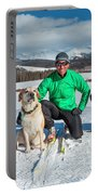 Colorado Cross Country Skiing Portable Battery Charger