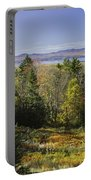 Colorful Fall Forest Near Rangeley Maine Portable Battery Charger