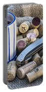 Corks With Corkscrew Portable Battery Charger