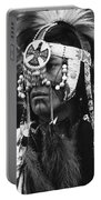 Crow Native American Traditional Dress Rodeo Gallup New Mexico 1969 Portable Battery Charger