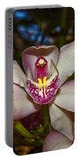 Cymbidium Orchid Portable Battery Charger