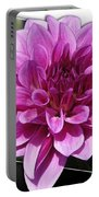 Dahlia Named Blue Bell Portable Battery Charger