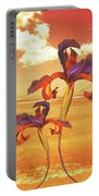 Dancing In The Sunset Portable Battery Charger