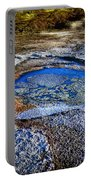 Dead Sea Sink Holes Portable Battery Charger by Dan Yeger