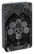 Dia De Muertos Madonna Portable Battery Charger