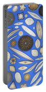 Diatoms Portable Battery Charger by Kent Wood