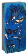 Dinka Painted Lady - South Sudan Portable Battery Charger