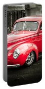 2 Door Red Portable Battery Charger
