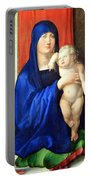 Durer's Madonna And Child Portable Battery Charger