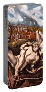 El Greco's Laocoon Portable Battery Charger