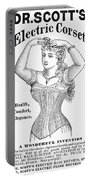 Electric Corset, 1882 Portable Battery Charger