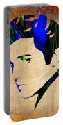 Elvis Presly Wall Art Portable Battery Charger