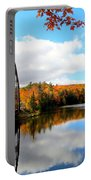 Autumn In Upper Michigan Portable Battery Charger