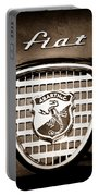 Fiat Abarth Emblem Portable Battery Charger