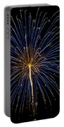 Fireworks Bursts Colors And Shapes Portable Battery Charger