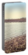 Flooded Farmland Portable Battery Charger