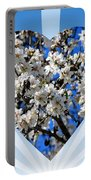 Floral Heart Portable Battery Charger